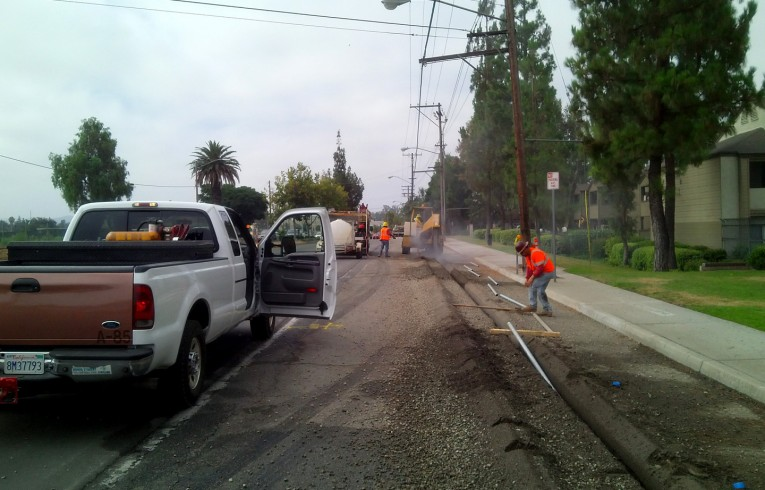 Utility services offered by HLE in Riverside, California.