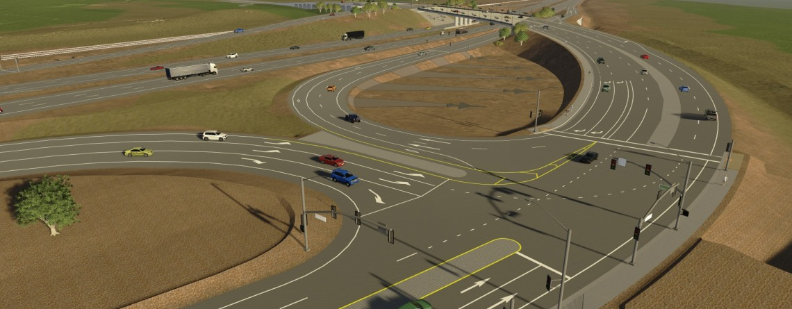 HLE Improves the Van Buren Boulevard Interchange